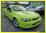 2006 Ford Falcon BF MkII XR8 Green Manual 6sp M Utility for Sale