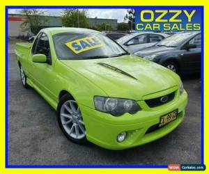 Classic 2006 Ford Falcon BF MkII XR8 Green Manual 6sp M Utility for Sale