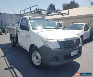 Classic 2014 Toyota Hilux TGN16R Workmate Cab Chassis Single Cab 2dr Man 5sp 2.7i MY14 for Sale