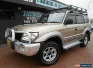 2002 Toyota Landcruiser Prado KZJ95R GXL (4x4) Gold Manual 5sp M Wagon for Sale