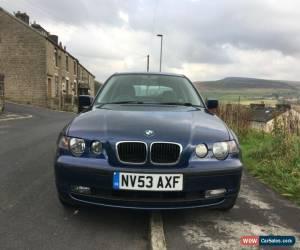 Classic BMW E46 318 Ti 2.0 SE COMPACT  for Sale