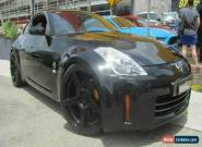 2009 Nissan 350Z Z33 MY07 Track Black Manual 6sp M Coupe for Sale