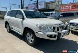 Classic 2011 Toyota Landcruiser VDJ200R Altitude White Automatic A Wagon for Sale