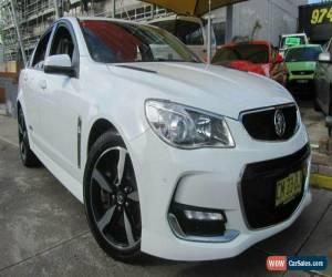 Classic 2017 Holden Commodore VF II MY17 SS White Automatic 6sp A Sedan for Sale