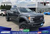 Classic 2019 Ford F-250 Lariat Black Widow Lifted Truck for Sale
