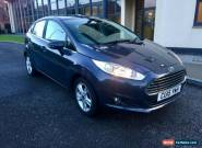 ford fiesta 1.25 zetec 2015 1 owner 17,000 fdsh a1 condition with many options for Sale
