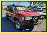 Classic 1991 Toyota Landcruiser Sahara (4x4) Red Automatic 4sp A Wagon for Sale