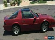 1989 Chevrolet Camaro Z28 for Sale