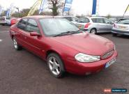 2001 FORD MONDEO ZETEC RED for Sale