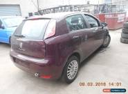 2013 FIAT PUNTO FOR PARTS ONLY for Sale