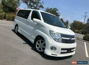 2008 Nissan Elgrand E51 Series 3 Highway Star White Automatic A Wagon for Sale