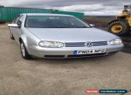 2004 VOLKSWAGEN GOLF TDI S SILVER for Sale