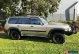 Classic 2002 Nissan Patrol GU III ST (4x4) Gold Automatic 5sp A Wagon for Sale