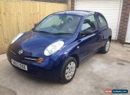 NISSAN MICRA 1.0 E , MANUAL ,NEW MOT, NEW CAM CHAIN FITTED AND FULLY SERVICED  for Sale