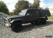 1996 Toyota Landcruiser HZJ75RV RV LWB (4x4) Black Manual 5sp M Hardtop for Sale