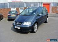 2005 VOLKSWAGEN SHARAN S 1.9TDI AUTO **7 SEATER** NO RESERVE for Sale