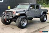 Classic 2020 Jeep Gladiator Sting grey lifted custom gladiator max tow 40 for Sale