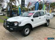 2013 Ford Ranger PX XL White Automatic A Cab Chassis for Sale