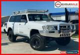 Classic 2009 Nissan Patrol GU 6 ST Cloud White Manual M Wagon for Sale