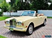 1982 Rolls-Royce Corniche for Sale