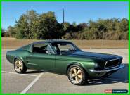 1967 Ford Mustang Coil Over, 4 Link, Electric Steering, Willwood Disc for Sale