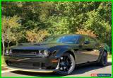 Classic 2019 Dodge Challenger SRT HELLCAT SATIN BLACK HOOD LAGUNA RED LEATHER PLUS PKG for Sale