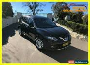 2015 Nissan X-Trail T32 ST Wagon 5dr X-tronic 7sp 4WD 2.5i Black Automatic A for Sale