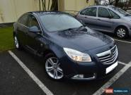 2009 VAUXHALL INSIGNIA SRI 160 CDTI A BLUE for Sale