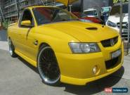 2006 Holden Commodore VZ MY06 SS Thunder Yellow Manual 6sp M Utility for Sale