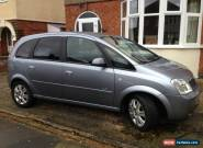 2006 VAUXHALL MERIVA 1.6 ACTIVE SILVER - 72k miles - Petrol for Sale