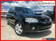 2008 Ford Territory SY Turbo Black Automatic A Wagon for Sale