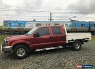 2004 Ford F250 RN XLT Red Automatic 4sp A Crew Cab Pickup for Sale