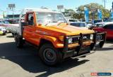 Classic 1987 Toyota Landcruiser HJ75RP (4x4) Red Manual 5sp M Cab Chassis for Sale