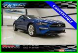 Classic 2018 Ford Mustang EcoBoost Premium Convertible for Sale