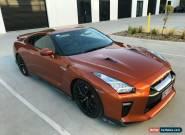 2016 Nissan GT-R R35 MY17 Premium Lux Trim Blaze Metallic Automatic 6sp A Coupe for Sale