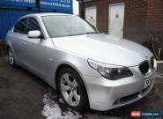 2007 BMW 5 SERIES 530D AUTO FINISHED IN  SILVER for Sale