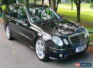 Mercedes E63 AMG E320 CDi Sport Estate,Obsidian Black,Satnav,Bi Xenon,Leather for Sale