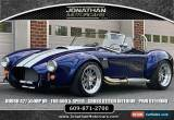 Classic 1965 Shelby Cobra BACKDRAFT RACING COBRA for Sale