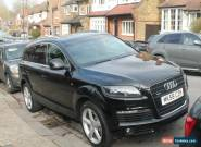 2008 AUDI Q7 S LINE TDI QUATTRO A BLACK for Sale