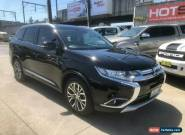 2016 Mitsubishi Outlander ZK XLS Black Automatic A Wagon for Sale