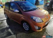 2009 09 RENAULT TWINGO 1.2 TCE GT BRONZE ELECTRIC GLASS SUNROOF,63000M, FSH, for Sale