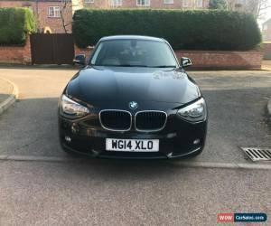 Classic 2014 BMW 1 Series 1.6 116d EfficientDynamics Sports Hatch (s/s) 5dr for Sale