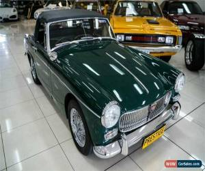 Classic 1969 MG Midget Sports British Racing Green Manual 4sp M Roadster for Sale
