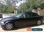 BMW 330ci  Manual  for Sale