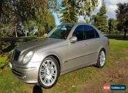 2005 Mercedes Benz E350 Avantegarde 3.5L V6 7sp Auto for Sale