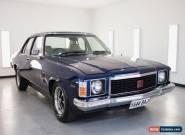 1974 Holden HJ G.T.S Monaro for Sale