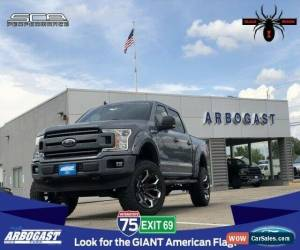 Classic 2019 Ford F-150 XLT Black Widow Lifted Truck for Sale