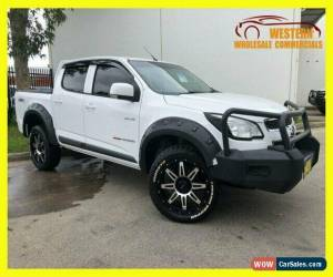 Classic 2014 Holden Colorado RG MY14 LX Utility Crew Cab 4dr Man 6sp 1170kg 2.8DT White for Sale