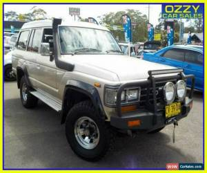 Classic 1990 Toyota Landcruiser FJ62RG GXL (4x4) Gold Automatic 4sp A Wagon for Sale