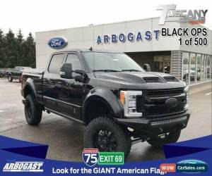 Classic 2019 Ford F-250 Lariat Tuscany Black Ops Lifted Truck for Sale